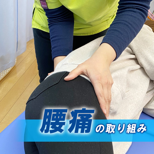 筑西市のかがやき鍼灸整骨院の腰痛の取り組み
